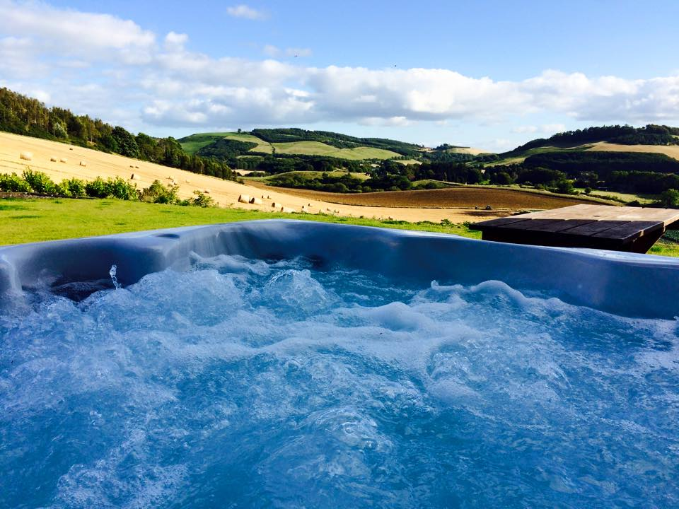Lindores Lodge Hot Tub
